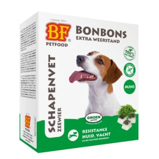 Schapenvet BonBon Zeewier Mini - BF Petfood - Biofood