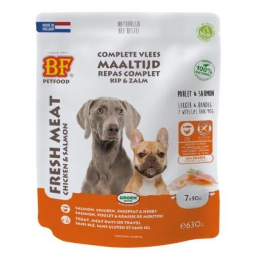 Vleesvoeding Kip & Zalm - BF Petfood - Biofood - 1