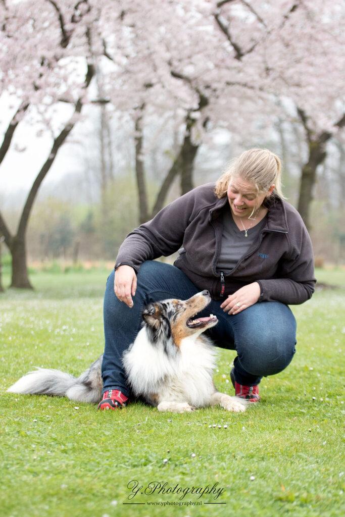 Foto Kathleen met Jack