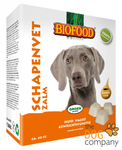 Biofood Schapenvet bonbons zalm