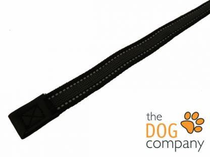 Dogogo zwart antislip lijn zonder handvat