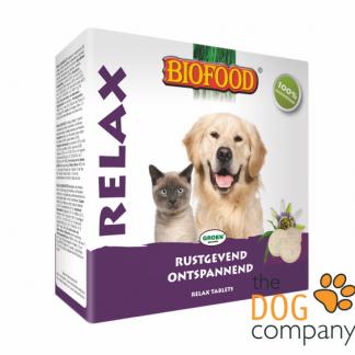 Biofood relax tabletten hond kat