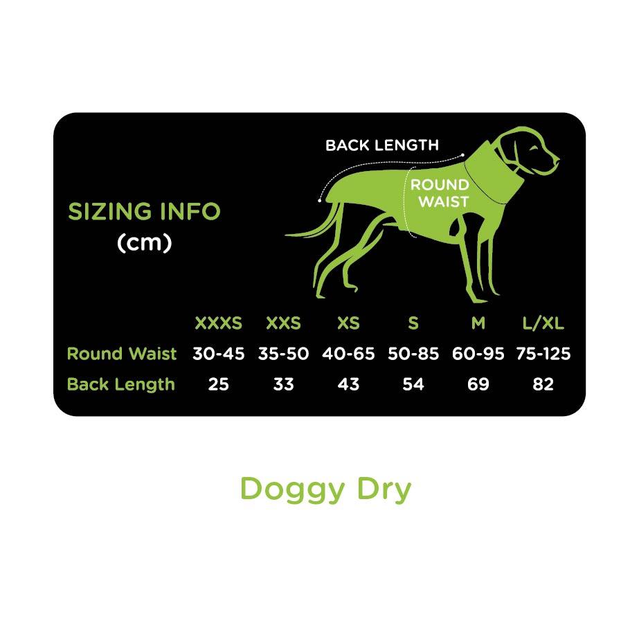 Doggy Dry - badjas - EQDOG