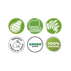 Geperst Mini:Puppy eigenschappen - BF Petfood - Biofood