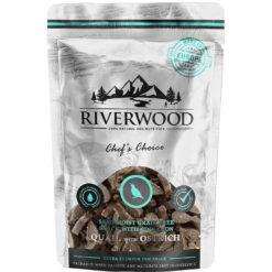 Semi Moist - Riverwood - Kwartel en Struisvogel - Chef's Choice